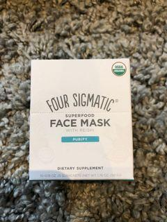 Superfood face mask supplements