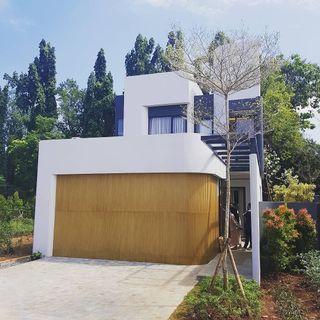 Town house mewah exclusiv Ala villa di sawangan depok