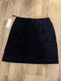Wool A-line Miniskirt Uniqlo