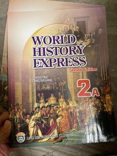 World History Express 2A