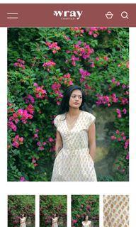Wray Crafted Uma Wrap Dress (Meadow)