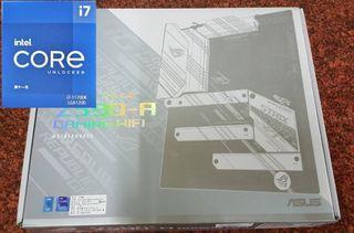 免運 i7 11700K CPU+ROG STRIX Z590-A GAMING WIFI