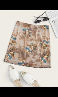 Angel mesh skirt