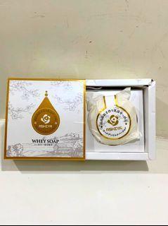 Ashiya日本頂級手作黃金乳清美肌皂.90克