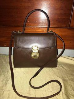 Authentic  BURBERRYs mini Kelly leather