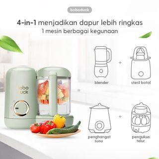 Food Processor Boboduck - NEW in box (EX KADO)‼️