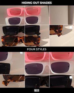 Hiding Out sunglasses