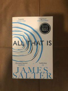 James Salter - All That Is