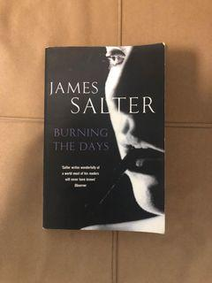 James Salter - Burning the Days