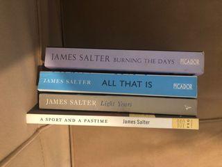 James Salter book set