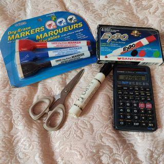 Lot of School Supplies
