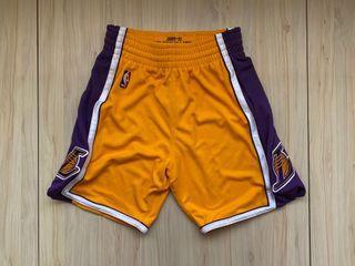 Mitchell Ness M&N 湖人 AU 球員版 球褲 M號 Kobe James