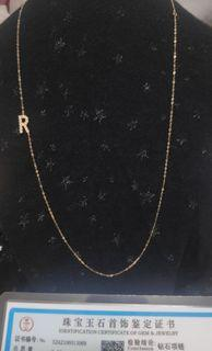 natural diamond necklace with certificate