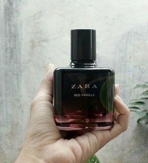 Parfume perempuan (BEST SELLER)Zara red vanilla 100ml