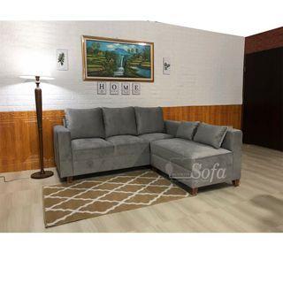 Sofa L tamu modern