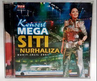 CD KONSERT MEGA SITI NURHALIZA BUKIT JALIL 2001