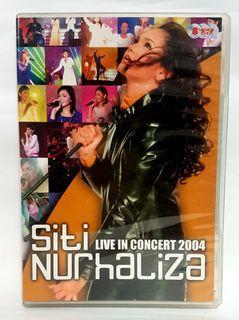VCD SITI NURHALIZA LIVE IN CONCERT 2004