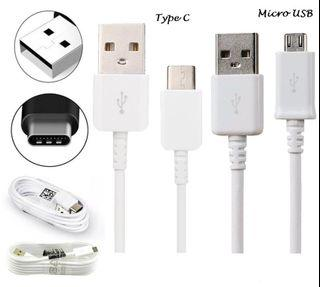 100% Genuine Samsung Type C Data Sync+FAst Charging Cable