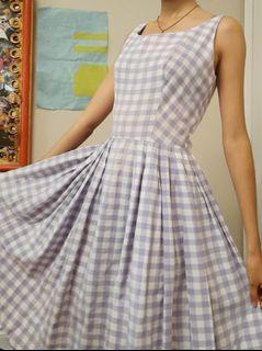 1950s Vintage Summer Dress