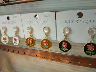 925銀針耳環