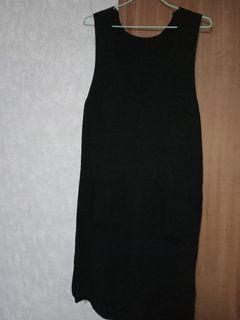 針織長版背心