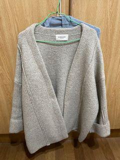 花泥小姐 正韓羊毛針織外套