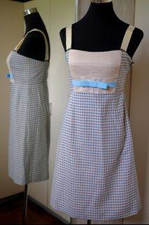 BNWOT Sportmax Tweed Strap Tube Dress
