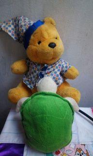 Boneka disney winnie the pooh & kura2