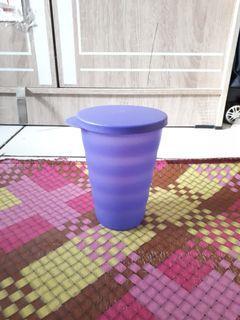 Cangkir dengan tutup tupperware mug 500ml #antibosan