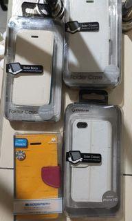 case iphone 5c capdase sider flip mercury barang baru stok lama
