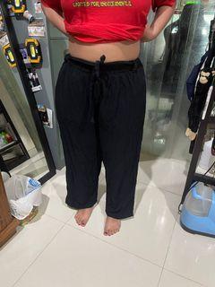 Celana Kulot Hitam bigsize