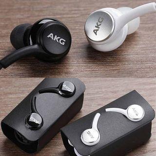 Genuine Samsung AKG earpiece Audio/ Type c- Blk/Wht