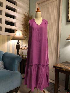 Home Dress purple
