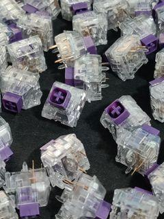 Kailh Crystal Box Royal Switches   Tactile   107 pieces