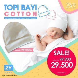 LAGI DISKON!! Topi Bayi Newborn   ZY BABY cotton beanie