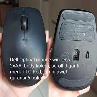 mouse wireless besar nyaman digenggam merk xiaomi dell samsung bergaransi