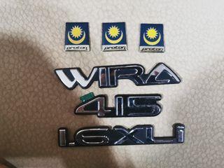 Proton wira Emblem Wira, 415,1.6 xli