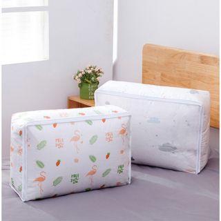 Tas Penyimpanan Waterproof Bed cover Selimut Quilt Pakaian Storage Bag Organizer Flaminggo