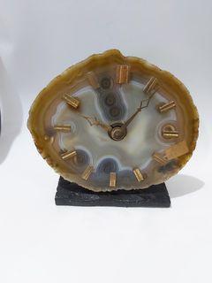 原石切割時鐘