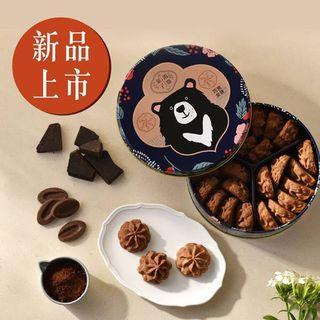 鴻鼎菓子 台灣黑熊曲奇餅 巧克女孩