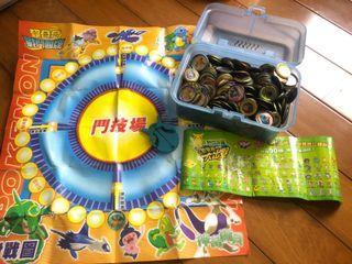 老玩具 寶可夢 神奇寶貝 戰鬥圓盤 鬥片 尪仔標