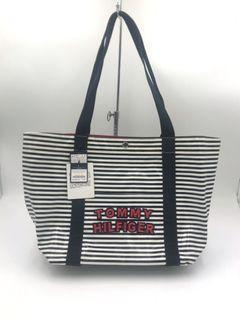 [全新 現貨 出清]Tommy Hilfiger 條紋托特包 購物袋 #東京
