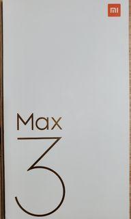 [公司貨]小米 Max 3 Max3 玫瑰金 雙卡雙待 大螢幕 智慧手機