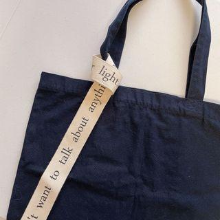 二手-韓國 Unfold帆布包