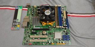 四核心電腦 X4 640 acer主機板 威剛4GB DDR3 AM3 腳位 含檔板