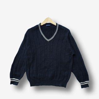 Academia Cable Sweater Akademia Kepang Oversize