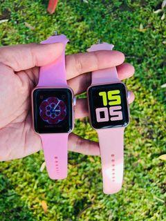Apple Watch Rose Gold series 1 dan 2 ukuran 38mm iwatch pink langka