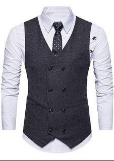 brand new  Men's Classic suit vest a-M SIZE