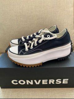 Converse Run Star Black Low