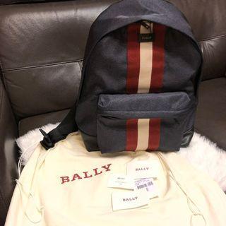 急放😭FULLSET 正貨Bally背囊backpack